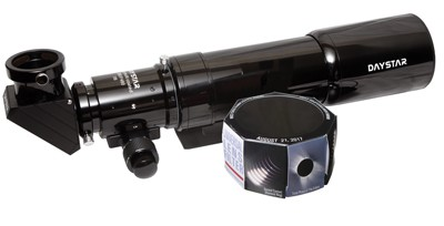 DayStar 80mm Refractor with White Light filter, diagonal, and case