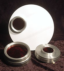 Energy Rejection Filter - glass, cell and cap - Specify dimensions