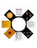 Universal Lens Filter - 70mm aperture BINOCULAR SET of TWO (2 each)