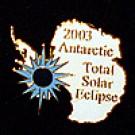 2003 Commemorative Antarctica Eclipse Pin