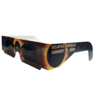 2017 Solar Eclipse Glasses (Patriotic version)