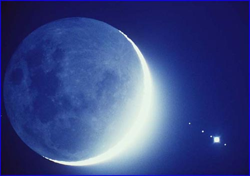 The Moon Occults Jupiter