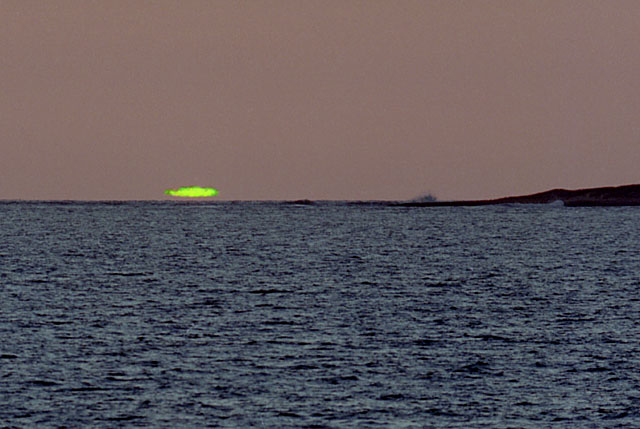 Image result for Green flash