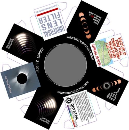 Universal Lens Filter - 50mm aperture BINOCULAR SET of TWO (2 each)